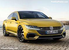 Volkswagen Arteon 2018 poster, #poster, #mousepad, #tshirt, #printcarposter