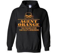 Agent Orange Friendly Fire That Keeps On Burning T-Shirt