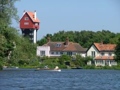 House in the Clouds from Thorpeness Mere