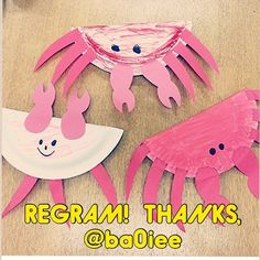 Here is an adorable summer themed craft! Thanks @ba0iee for permission to regram! They also put rice in the plates before gluing them together so that the kids could use them as shakers.- - click on pin for more! - Like our instagram posts? Please follow us there at instagram.com/pediastaff