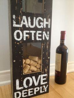 Wine Cork Holder Rustic by GrubbyGuitars on Etsy, $60.00