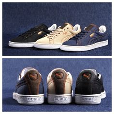 """Available on 12th of November: #PUMA States Denim Pack """"#theLIST"""" Series #shoes #sneakers #fashion"""