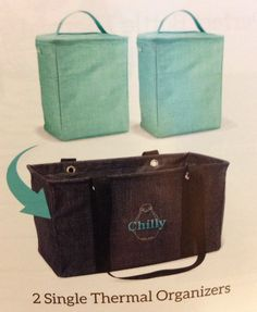 November Special. Medium Utility Tote. Pair it with 2 Single Thermal Organizers