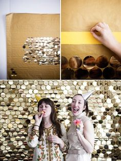 new years photobooth - Leuk idee voor een Kerst of New Year's Eve party!