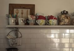 Floating Shelves, Kitchen, Home Decor, Decoration, Ideas, Blog, Fields, Country Homes, Rustic Country Kitchens