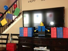 Lego Party- party favors, goodie bags