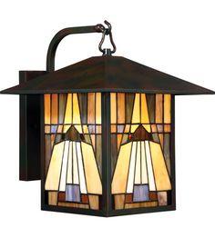 Quoizel TFIK8411VA Inglenook 1 Light 14 inch Valiant Bronze Outdoor Wall Lantern in Incandescent #LightingNewYork