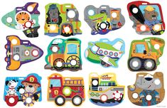 Poke-A-Dot poppers toddler toys from Innovative Kids - illustrated by Holli Conger Toddler Toys, Over The Years, Art For Kids, Kids Rugs, Illustration, Artist, Animals, Products, Art For Toddlers