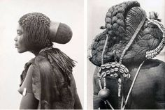 The Braided Rapunzels of Africa & other Tribal Trends # types of Braids trends African Tribes, African Women, Indian Tribes, African Braids, African Art, African Hairstyles, Afro Hairstyles, Black Hairstyles, Unique Hairstyles