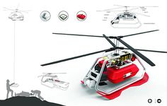A different kind of drone - the Unmanned Aerial Rescue Vehicle,