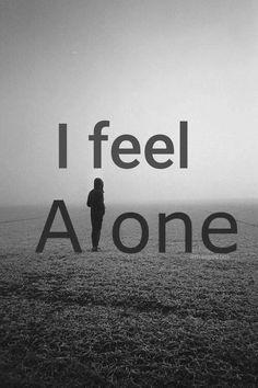 Everyday and night Sad Alone, I Feel Alone, Alone Girl, Feeling Alone, Osho Quotes On Life, Sad Love Quotes, Girly Quotes, Attitude Quotes, Feeling Pictures
