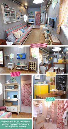 Sala, Hall, Cozinha e Banheiro da Casa Container MMM404 :D