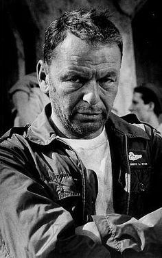 """Frank Sinatra, portrait for """"Von Ryan's Express,"""" 1965."""