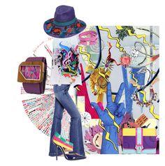 """Like a painter...."" by zabead ❤ liked on Polyvore featuring Jonathan Tegelaars, Paula Cademartori, Salvatore Ferragamo, STELLA McCARTNEY, Giannico, Anton Heunis, Anabela Chan, Mistura, Etro and women's clothing"
