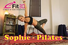 About Sophie's Pilates video: A full body workout with the aim of strengthening your stabilizing muscles. Helping with creating long, strong, lean lines of t...