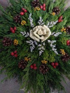 stroik Funeral Flowers, Fall Flowers, Flower Bouquet Wedding, Floral Arrangements, Christmas Wreaths, Lavender, Holiday Decor, Handmade, Crafts