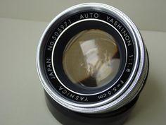 Vintage Auto Yashinon 55mm f1.8 prime lens Tomioka by Coolretro72