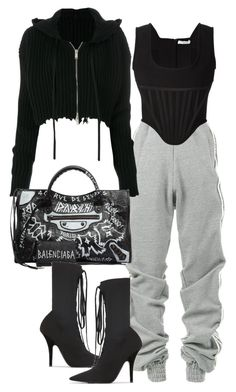 """""""Season 16"""" by milla-fall ❤ liked on Polyvore featuring Y/Project, Unravel, Givenchy, Balenciaga and Yeezy by Kanye West"""