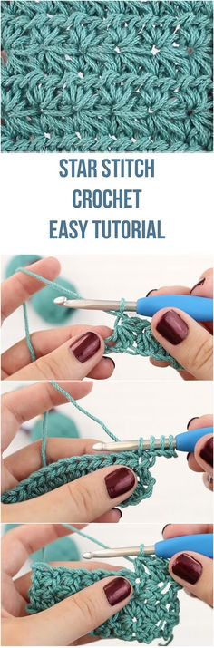 Want to explore the star stitch crochet easy tutorial? Then this step-by-step guide in just what you need. + We have a free video tutorial for you