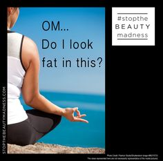 Peace of mind can be hard to come by when your body issues are up. #stopthebeautymadness