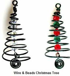 wire tree ornament