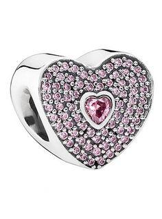 Pandora heart bead charm http://rstyle.me/n/wmmhipdpe