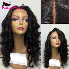 135.04$  Watch here - http://aliger.worldwells.pw/go.php?t=32760038424 - Loose Wave Silk Base Lace Front Wigs With Baby Hair Unprocessed Virgin Brazilian Glueless Silk Top Full Lace Wig For Black Women