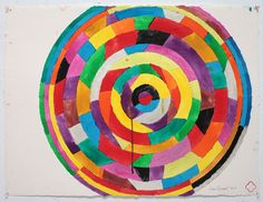Color Works on Paper It Works, Illustration Art, Abstract, Paper, Creative, Painting, Color, Embroidery, Summary