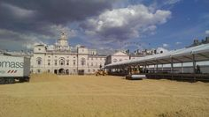 Over 1100 tonnes of sand used for the arena surface!
