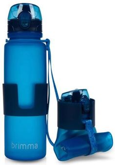 Collapsible Water Bottle | 22 Oz Leak Proof | 100% BPA Free | Brimma