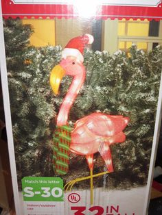 pink flamingo christmas yard decorations credainatcon