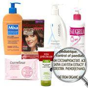 Liste de produits contenant des substances toxiques.