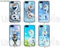 Disney frozen Phone Cases, iPhone 5 Case, iPhone 5S/5C Case, iPhone 4/4S Case, Samsung Galaxy S4 case, Galaxy S3 case olaf -400496