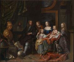 Charles Le Brun (French, 1619–1690). Everhard Jabach (1618–1695) and His Family, ca. 1660. The Metropolitan Museum of Art, New York. Purchase, Mrs. Charles Wrightsman Gift, in honor of Keith Christiansen, 2014 (2014.250)