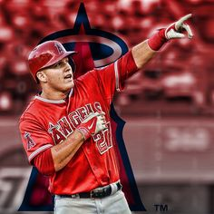 """Mike Trout #miketrout #losangelesangels #angels"""