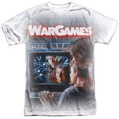 Mens WarGames Poster Sublimation T-Shirt