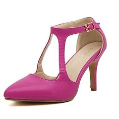 Women's Stiletto Heels Pointed Toe Pumps/Heels with Buckle Shoes (More Colors) – AUD $ 38.95