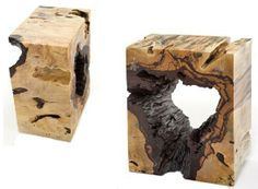 Beautiful Wooden End Tables.