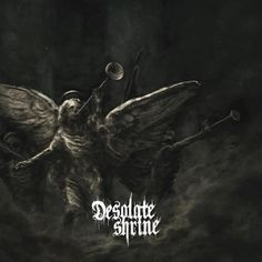 Also in the post today, the new Desolate Shrine album: The Sanctum of Human Darkness. Excellent death metal from Finland and a huge step fron their first album (which was killer btw!) Available on Dark Descent Records.