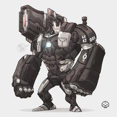 War Machine - Artwork