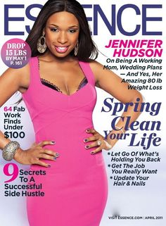 Jennifer Hudson - Essence Magazine  (April 2011)