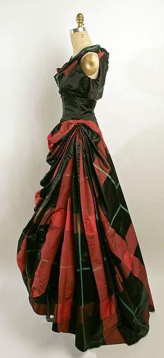 ~Evening dress Bergdorf Goodman (American, founded 1899)  Date:     1950–55 Culture:     American or European Medium:     silk~