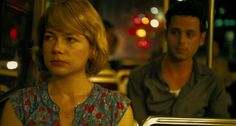 From the movie Take this Waltz (2011) Michelle Williams...top with cute floral print and lots of piping.