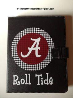 Alabama iPad decal