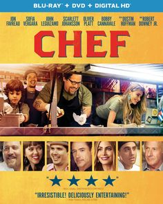 Blu-ray Sale: Chef, Mr. Peabody & Sherman, The Maze Runner or Divergent $10 & Many More