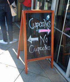 This will be the sign in front of our cupcake shop!