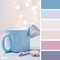 pastel cup color palette for winter Palette Pastel, Blue Colour Palette, Colour Schemes, Color Combos, Color Patterns, Beige Color, Rose Beige, Pink Beige, Color Trends