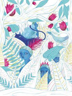 La Casita de Wendy Bon Sauvage Collection. SS/14. Ana Sender lovely lovely Prints.