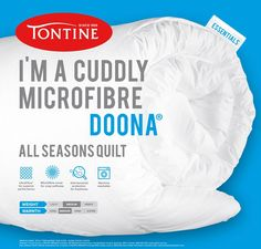 Tontine - Cuddly Microfibre All Seasons Quilt / Doona