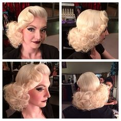 That one time I turned @dndmarrufo into a glam goth Barbie! Hair and makeup by me #missrockabillyruby @pinupgirlboutique @pinupgirlclothing #pinup #pinuphair #pinupmakeup #muah #hairdresser #missruby #retro #retrohair #retrobarbie #barbiegirl #goth #gothmakeup #pinupgirlboutique #pinupgirlclothing #blonde #bombshell #iamsinmakeup #hairbymissruby